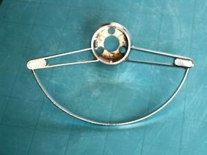 Nos 1960 63 Chevrolet Corvair Chrome Steering Wheel Horn Ring