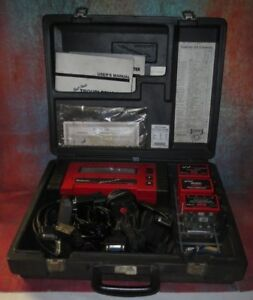 Snap On Mt2500 Diagnostic Scanner With Cords cartri keys Everything Pictured