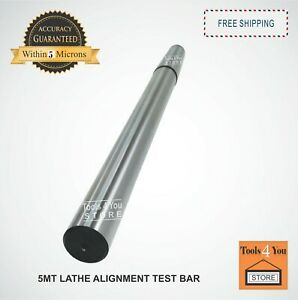 5mt Lathe Alignment Test Bar Mt5 Alloy Steel Over All Length 442mm 17 1 2 Inch