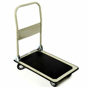330lbs Platform Cart Folding Foldable Dolly Push Hand Truck Moving Warehouse New