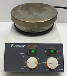 Heidolph Mr 3002 Magnetic Stirrer With Heating Plate