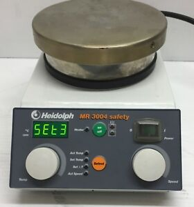 Heidolph Mr 3004 Safety Magnetic Stirrer With Heating Plate