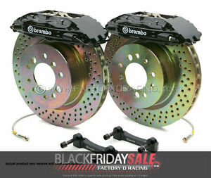 Brembo Gt Bbk Big Brake Kit 4 piston Front For 1994 2004 Ford Mustang 1e4 6001a1