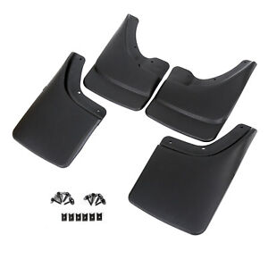 Fits Dodge Ram Mud Flaps 02 08 Guards Splash W O Flares 4 Pieces Front Rear