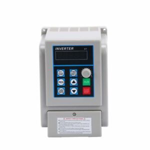 220v 1 5kw Single Phase To 3 three Phase Output Frequency Converter Vfd Vsd Usa