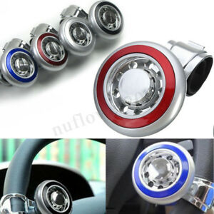 Universal Auto Car Steering Wheel Power Grip Spinner Knob Handle Ball Turning