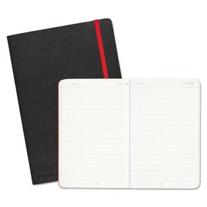 Soft Cover Notebook Legal Rule Black Cover 8 1 4 X 5 3 4 71 Sheets pad
