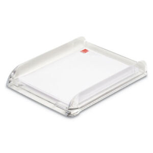 Stratus Acrylic Document Tray Letter Clear