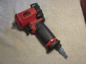 Mac Tools 1 2 Mini Impact Wrench Awp050m 635 Ft Lbs Like New