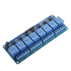 5pcs Geekcreit 5v 8 Channel Relay Module Board For Arduino Pic Avr Dsp Arm