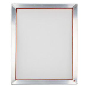 5pcs Screen Printing Aluminium Frame With 34x44cm White 47t Silk Print Wire Mesh