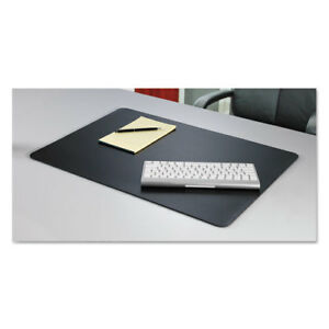 Rhinolin Ii Desk Pad With Microban 36 X 24 Black