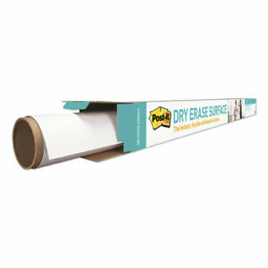 Dry Erase Surface With Adhesive Backing 72 X 48 White
