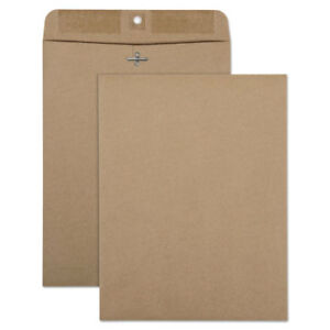 100 Recycled Brown Kraft Clasp Envelope 9 X 12 Brown Kraft 100 box