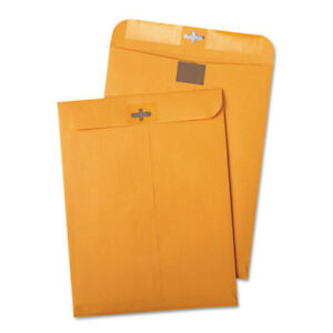 Postage Saving Clearclasp Kraft Envelopes 9 X 12 Brown Kraft 100 box