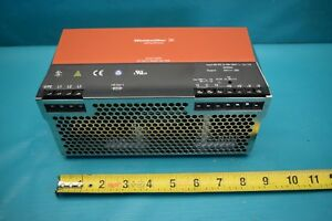 Used Weidmuller 8708710000 Power Supply 500w 24v 20a