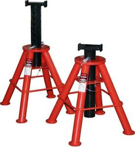 Norcoindustries 81208i 10 Ton Jack Stands Imported 10 5 To 17