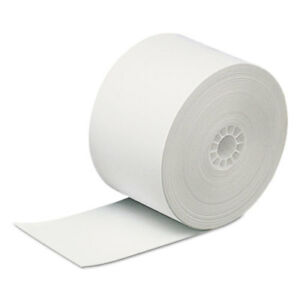 Direct Thermal Printing Thermal Paper Rolls 2 5 16 X 400 Ft White 12 carton