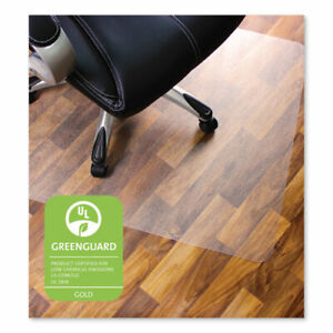 Cleartex Ultimat Polycarbonate Chair Mat For Hard Floors 48 X 60 Clear