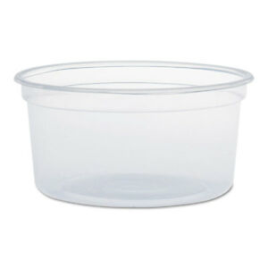 Microgourmet Food Containers 12 Oz Clear 500 carton