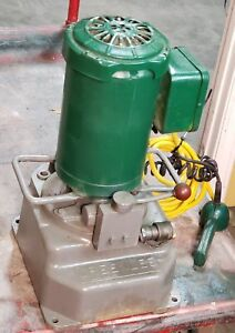 96341 Greenlee 960 Hydraulic Power Pump Unit For Greenlee 881 Pipe Bender