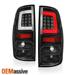upgrade Fits 2007 2013 Toyota Tundra Led Tube Black Tail Lights Brake Lamps