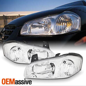 Fits 2000 2001 Maxima Both Left Right Side Headlights Front Lamps Pair