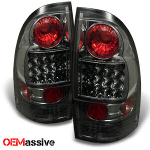 Fits 2005 2015 Toyota Tacoma Philips Lumiled Smoked Led Tail Lights Brake Lamps