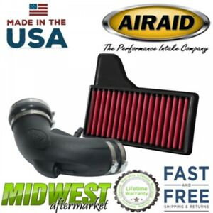 Airaid Synthetic Junior Cold Air Intake System Fits 2018 Ford Mustang Gt 5 0l V8