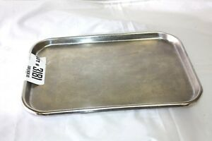 Vollrath 80150 Stainless Steel Instrument Tray 363gs