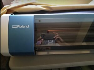 Roland Bn 20 Printer Cutter In Perfect Condition