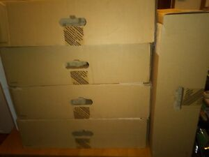 4 Empty Dell Flip Top Monitor Boxes In This Lot