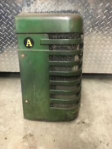 John Deere A Grille Right Side Used Tractor Antique Jd A Grill