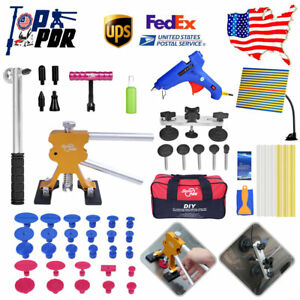 55x Pdr Tools Paintless Hail Repair Glue Dent Lifter Line Board Dent Removal Set