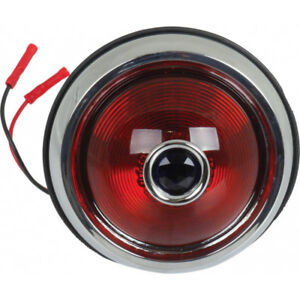 Tail Light Assemblies With Blue Dot Lens Left Or Right 1950 Pontiac Style
