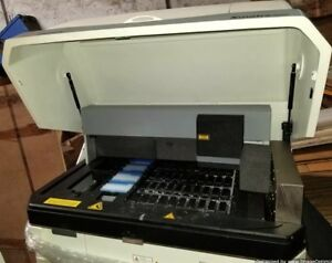 Xmatrx Elite Biogenex As4040b Slide Stainer W Desktop Monitor Printer