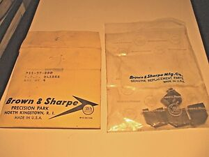 Brown Sharpe Hss Replacement Blades Set For 711 37 200 Adjustable Hollow Mill