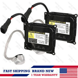 2x D4s D4r Hid Xenon Headlight Ballast For Toyota Lexus Ddlt003 Double Line