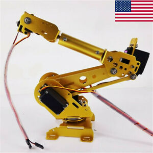 6 Axis Robot Arm Industrial Robot Arm Free Manipulator With Servos Us Sell