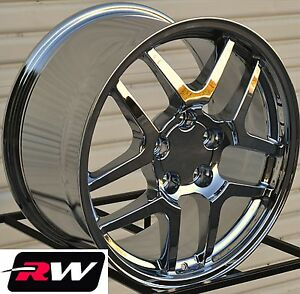 17 18 Inch Corvette C5 Z06 Oe Replica Wheels Chrome Rims Fit Camaro 1993 2002