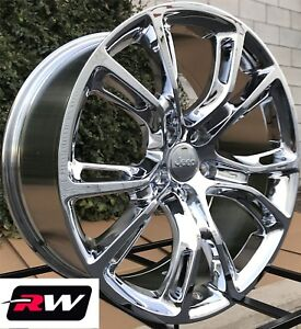 20 Inch Rw Wheels For Jeep Grand Cherokee 20x10 Chrome Srt Rims Spider Monkey