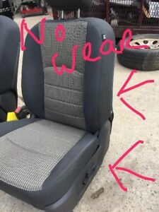 Driver Front Seat With Air Bag Bucket Cloth Fits 12 Dodge 1500 Pickup 41840