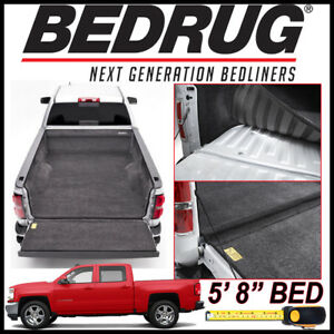 Bedrug 2007 2018 Chevy Silverado 1500 Custom Bed Protection Liner Mat Fits 5 8