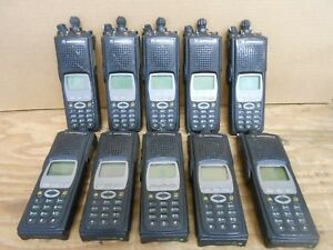 lot Of 10 Motorola Xts5000 Model Iii H18uch9pw7an Uhf P25 700 800 Mhz Radios