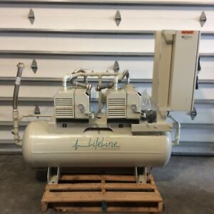 Beaconmedeas Ltv 2d l80 dc Lifeline Rotary Vacuum Pump Medical Healthcare