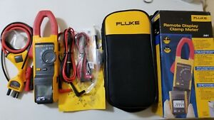 New Fluke 381 True rms Ac dc Clamp Meter With Iflex Tp 239395