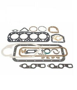 Fs3148 Farmall Ihc Gasket Set For A Av Av1 A1 B Bn C Super A 130 Engine