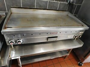 Used 4 Ft Vulcan Commercial Gas Grill Griddle Or Home Use Pickup Only Ct