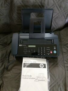 Hp 2140 Professional Fax Copier Telephone Plain Paper Tested