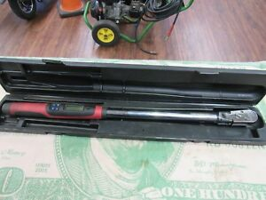 Snap on Tech3fr250 1 2 Digital Torque Wrench 250 Ft lb Free Shipping